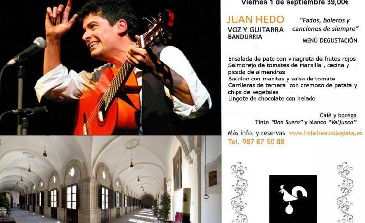 Concierto Juan Hedo